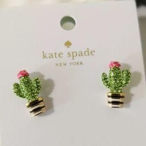 Kate Spade Down South Cactus Earrings